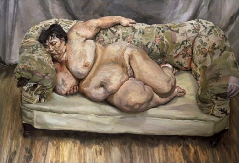 לישון עם לוסיאן פרוייד