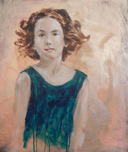 איריסיה קובליו, אקריליק על קנווס,  60x50