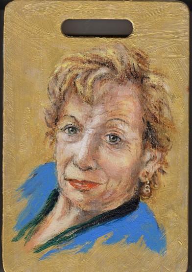 איריס קובליו, אימא, אקריליק על קרש חיתוך, 2012