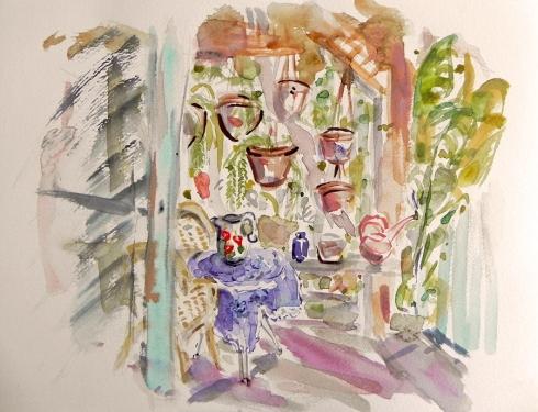 איריסיה קובליו, צבעי מים, הרצליה, 2013