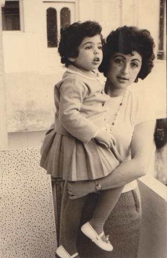 אימא ואני, תל אביב, 1960 בערך