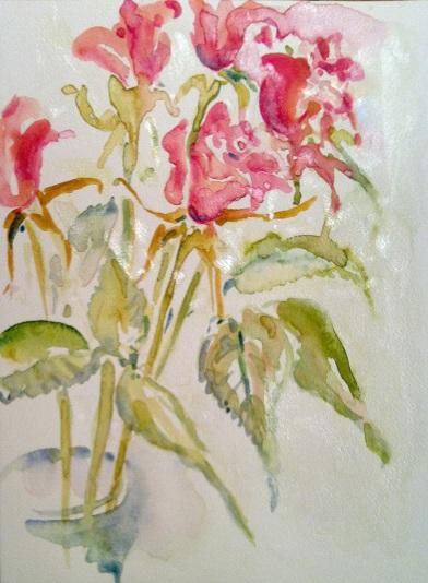 איריס איריסיה קובליו, צבעי מים, 2012