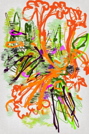 Iris Kovalio- Iphone sketches, 2013