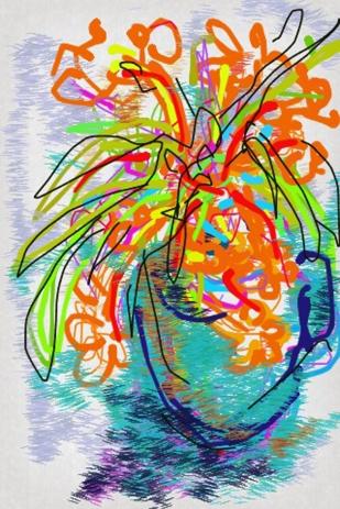 Iris Kovalio- Iphone sketches, 2013