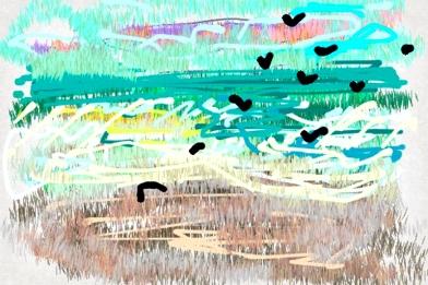 Iris Kovalio, Iphone painting, 2013