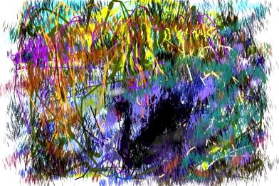 איריסיה קובליו, ציור בדיגיטל אייפון, 2013