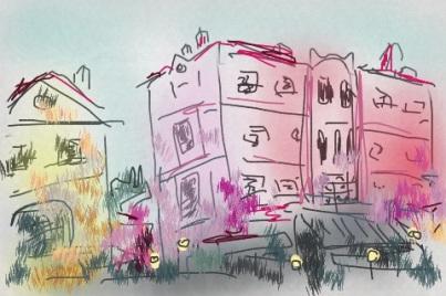 איריסיה קובליו, ורנה 2013, ציור דיגיטאלי באייפון