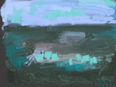 איריסיה קובליו, ציור אייפד, 2014