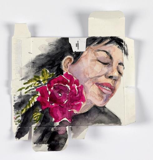 איריסיה קובליו, אקוורל על אריזת תרופה, 2010