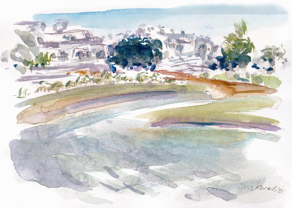 איריסיה קובליו, אקוורל, הרצליה, 2008