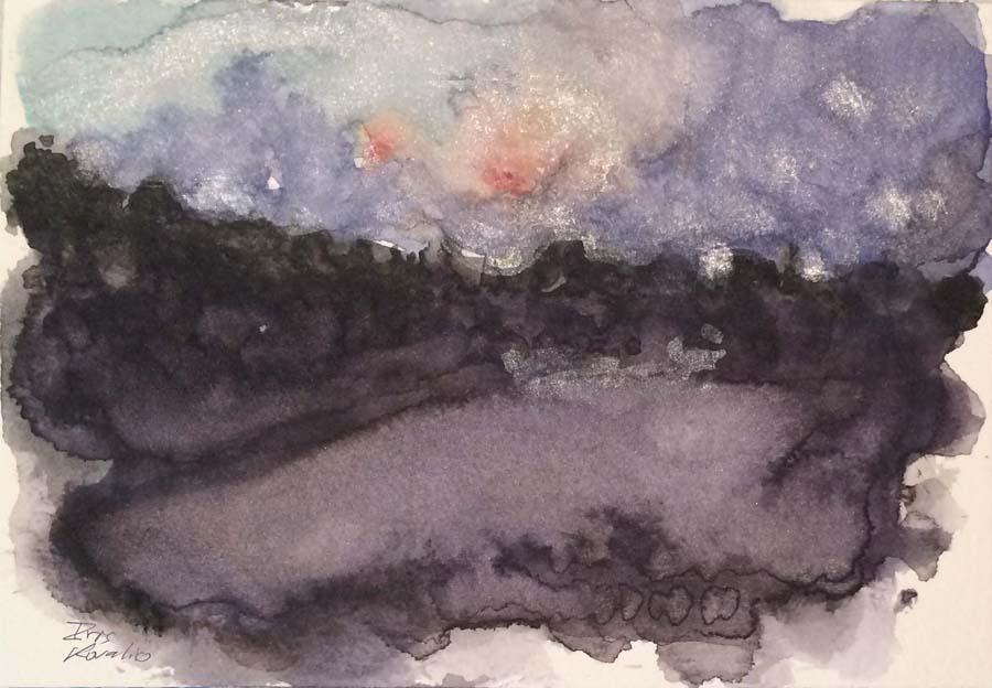 איריס קובליו, מרחב מוגן 13, אקוורל, אוגוסט 2014