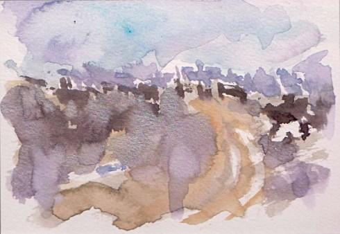 איריס קובליו, מרחב מוגן 11, אקוורל, אוגוסט 2014
