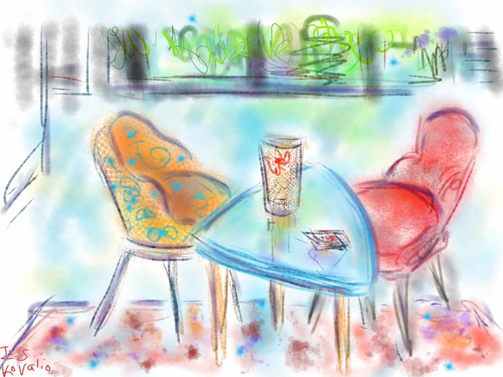 איריס קובליו, הבית שלי 2, ציור אייפד