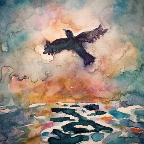 איריסיה קובליו. צבעי מים.