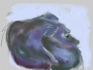 סקאי, ציור אייפד, 2014