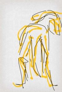 קושקה, ציור אייפון, 2013