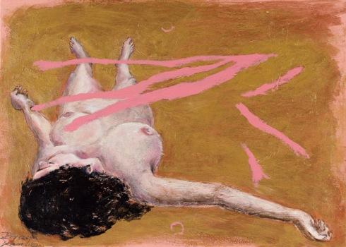 איריס קובליו, 2010 , אקריליק על בד