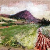 Mount Tabor- Iris Kovalio-Acrylic 2020